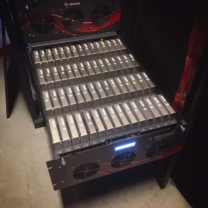Almacenamiento NAS 600TB