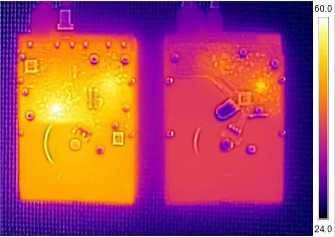 temperatura de un disco duro NAS