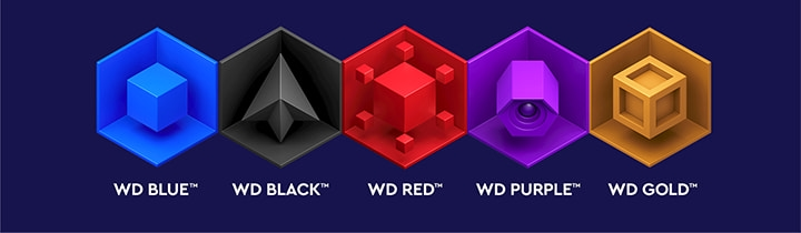 Gama discos duros para NAS WD